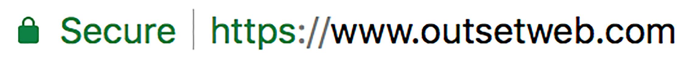 SSL Encryption Padlock